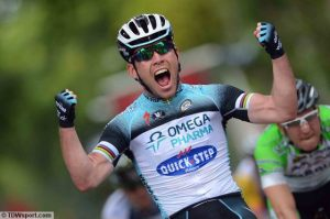 A winner in 2015 - Mark Cavendish