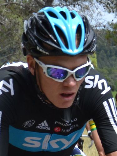 Thinking how much he hates Wiggins - Chris Froome