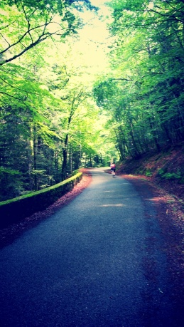 Quiet roads - riding in the Auvergne