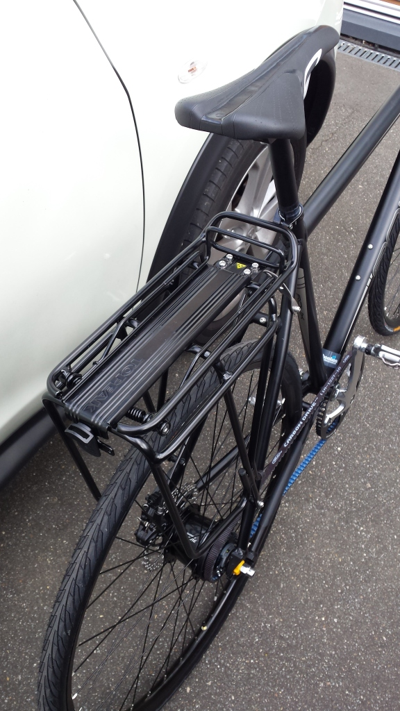 Topeak MTX rack on Roux A8