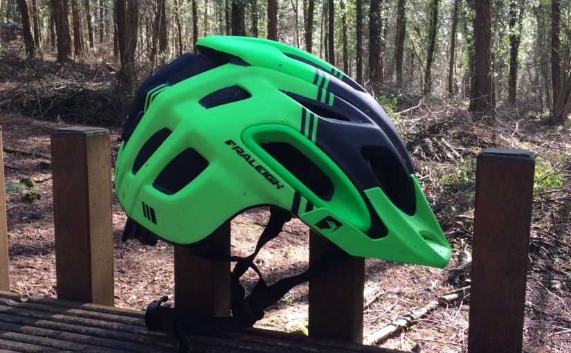 VCSE reviews – Raleigh Magni MTB helmet